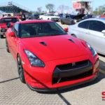 Red Nissan GTR r35