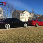 Nissan GTR r32 and Toyota Supra