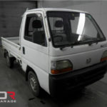 White Honda Kei Truck