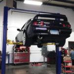 Black Nissan GTR r32