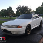 White 1992 Nissan Skyline GTR