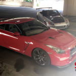 Silver Honda S2000 and Red Nissan GTR R35