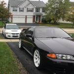 GTR R32 and White Evo